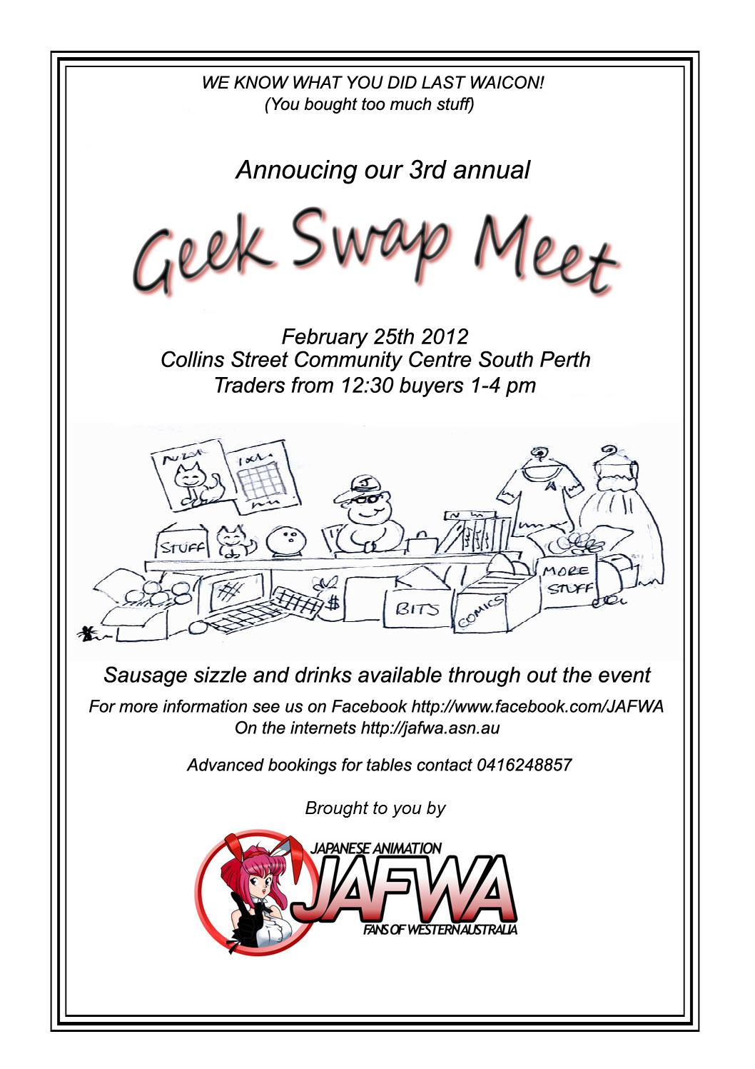 Geek Swap Meet